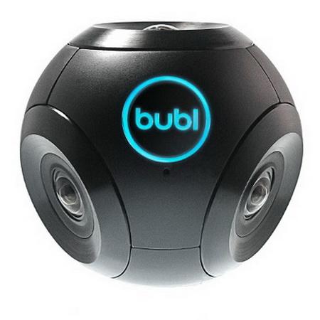 Камера Bublcam: Панорамное видео 360 градусов