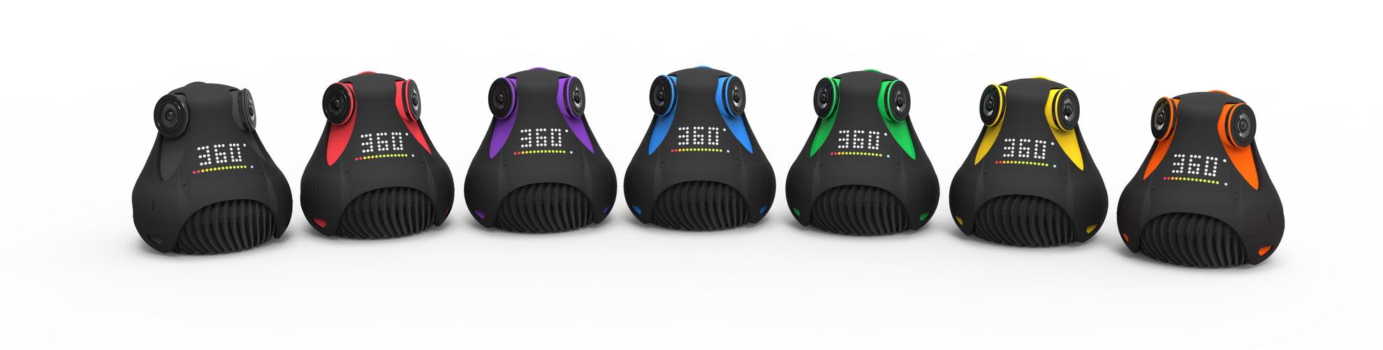 Камера Giroptic 360cam: Технические характеристики