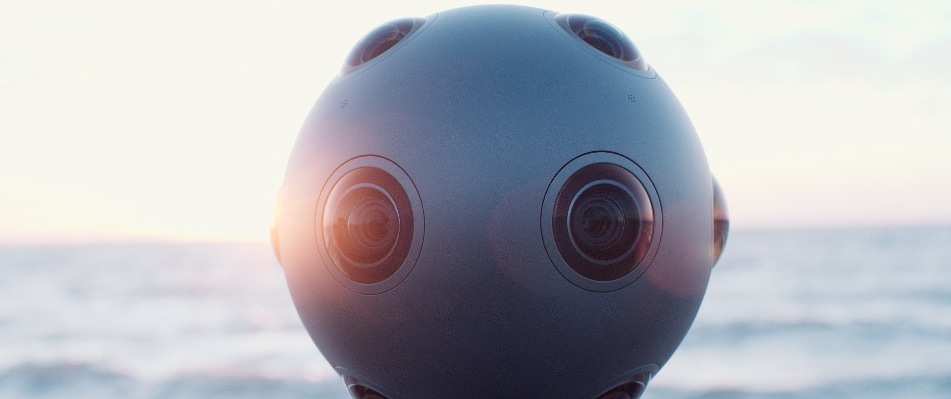 Nokia анонсировала панорамную камеру OZO